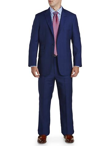 Big & Tall English Laundry Tonal Plaid Nested Suit