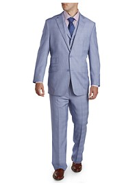 English Laundry Plaid 3-Pc Nested Suit