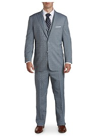 English Laundry Glen Plaid 3-Pc Nested Suit