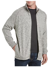 Lucky Brand Heather Full-Zip Knit Jacket