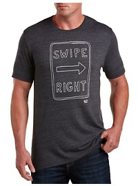 Original Penguin Swipe Right Graphic Tee