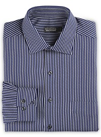 Rochester Non-Iron Textured Stripe Dress Shirt