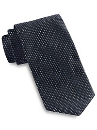 Keys & Lockwood Micro Neat Silk Tie