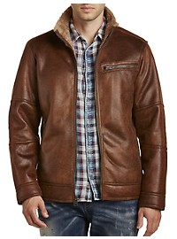 Buffalo David Bitton Faux-Shearling Jacket