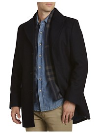 Kenneth Cole Earl Short Coat with Removable Scarf