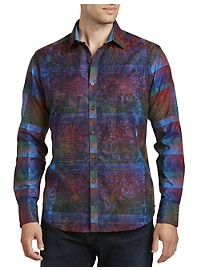 Robert Graham Limited Edition Doctor Multi-Print Sport Shirt