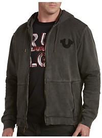 True Religion Moto Full-Zip Hoodie