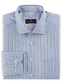 Robert Talbott Estate Medium Stripe Dress Shirt