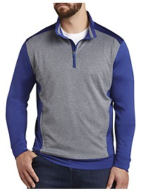 Cutter & Buck CB DryTec Replay Half-Zip Pullover