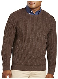 Cutter & Buck Carlton Cable Crewneck Sweater