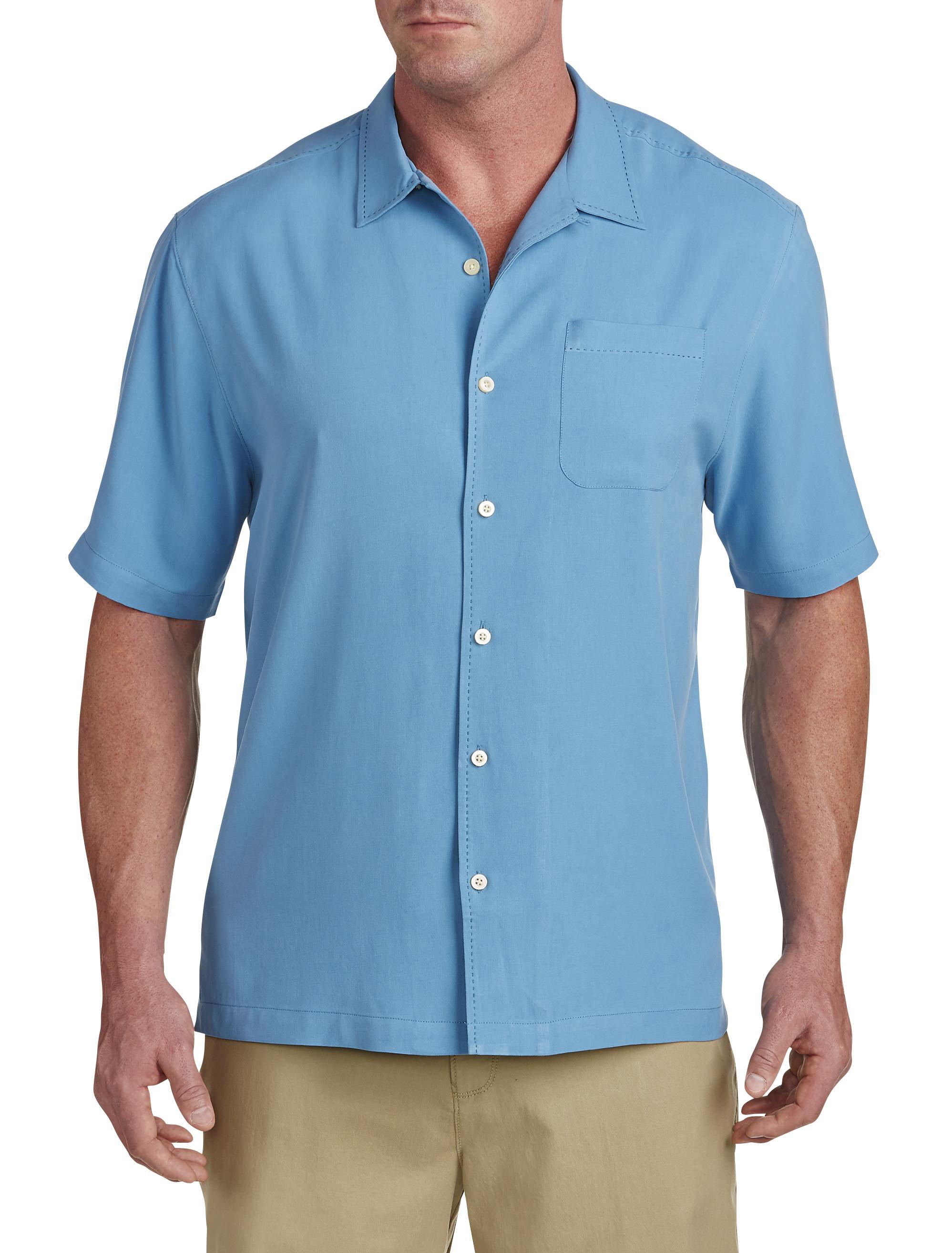 Tommy Bahama® Catalina Silk Twill Camp Shirt