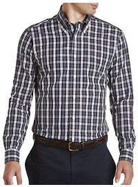 Brooks Brothers Non-Iron Plaid Broadcloth Sport Shirt