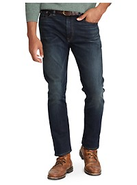 Polo Ralph Lauren Hampton Relaxed Straight Fit Lightweight Stretch Jeans – Murphy Wash