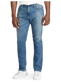 Polo Ralph Lauren Hampton Relaxed Straight-Fit Stretch Jeans