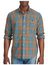 Polo Ralph Lauren Iconic Plaid Oxford Sport Shirt