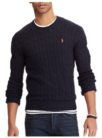 Polo Ralph Lauren Cotton Cable Sweater