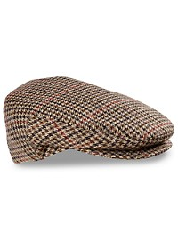 Bailey of Hollywood Lord Plaid Tweed Driving Cap