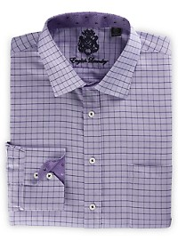 English Laundry Oxford Grid Dress Shirt