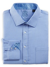 English Laundry Box Geo Dress Shirt
