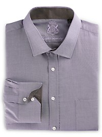 English Laundry Diamond Dobby Dress Shirt