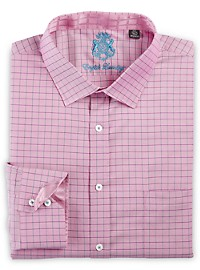 English Laundry Grid Oxford Dress Shirt
