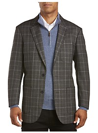 English Laundry Plaid Sport Coat