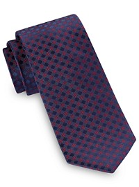 Michael Kors Dress Code Gingham Silk Tie