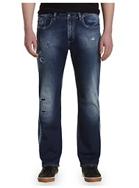 Buffalo David Bitton Griller Ripped Stretch Jeans