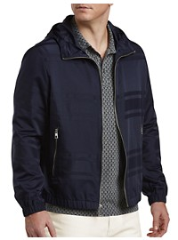 Michael Kors English Stripe Nylon Windbreaker