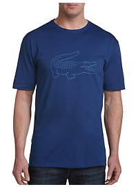 Lacoste Sport Technical Jersey Croc Graphic Tee