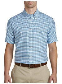 Brooks Brothers Non-Iron Gingham Oxford Sport Shirt