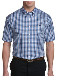 Brooks Brothers Non-Iron Multi Plaid Poplin Sport Shirt