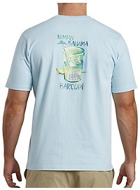 Tommy Bahama Bar Code Graphic Tee