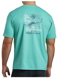 Tommy Bahama Keys to Happiness Graphic Tee