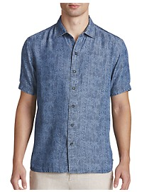 Tommy Bahama Block Party Palms Sport Shirt