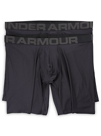 "Under Armour 2-Pk 9"" Boxerjock Boxer Briefs"
