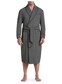 Paul Stuart Shawl-Collar Cotton Robe
