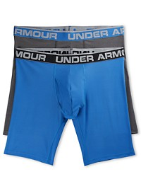 "Under Armour 2-Pk 9"" Tech Mesh Boxer Briefs"