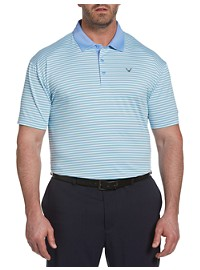 Callaway Refined 3-Color Stripe Polo