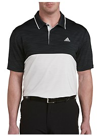 adidas Golf Ultimate Heather Colorblock Polo
