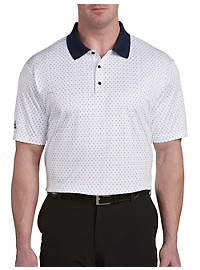 adidas Golf Micro Dot Print Polo