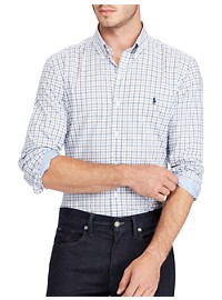 Polo Ralph Lauren Classic Fit Check Poplin Sport Shirt