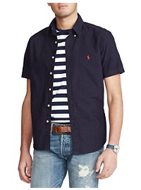 Polo Ralph Lauren Classic Fit Garment-Dyed Solid Oxford Sport Shirt