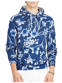 Polo Ralph Lauren Floral Cotton Spa Terry Hoodie