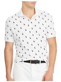 Polo Ralph Lauren Classic Fit Printed Soft-Touch Polo