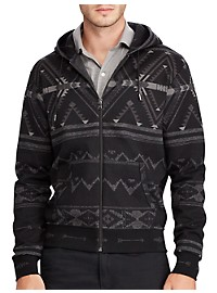 Polo Ralph Lauren Double-Knit Print Hoodie