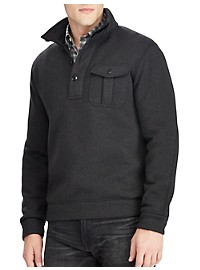 Polo Ralph Lauren Classic Fit Half-Zip Fleece Pullover