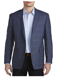 Michael Kors Plaid Wool Sport Coat