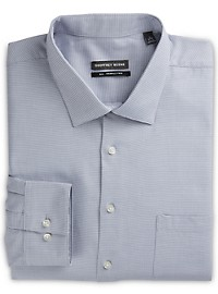Geoffrey Beene Mini Houndstooth Dress Shirt