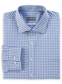 Michael Kors Non-Iron Dobby Grid Stretch Dress Shirt
